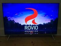"STUNNING 55"" SAMSUNG SMART 4K SUPER UHD HDR LED QUANTUM DOT TV BUILT IN WI-FI"