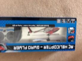 Remote control gyro flyer helicopter new in box