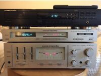 Marantz amp and tuner, champagne gold, perfect working order
