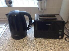 Cordless kettle also 2 slice toaster