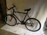 """Bicycle Raleigh """"Outland""""mens off road bicycle 21 speed shimono gears"""