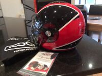 Roof Rover Sprot open faced motorbike helmet - new never worn!