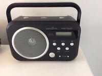 Matsui DAB Digital Radio - Black - Perfect Condition