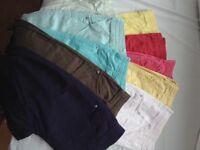 Women's 3/4 crop trousers size 12 ladies