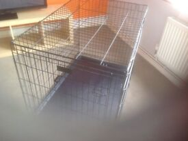 Dog Crate, Immaculate.