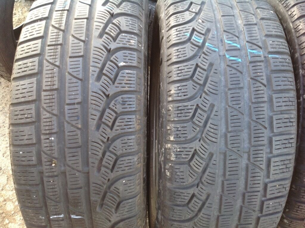 Winter tyres 205/55/16 -sets & pairs top quality branded tyres - unit 90 fleet road ig117bg