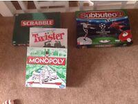 3 Board Games and 2016 Subbuteo