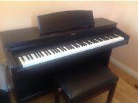 Rolland HP330e Digital Piano (Dark Rosewood)