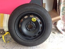 Good year tyre and rim
