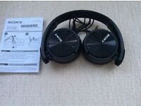 FANTASTIC SONY HEADPHONES. NOISE CANCELLING FUNCTION. ONLY £12