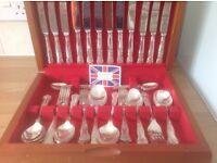 Silver cutlery set.44 piece.