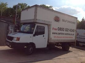 LDV 400 CONVOY TD LWB BOX LUTON WITH TAIL LIFT