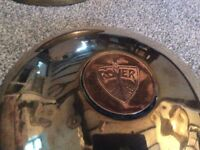 Vintage style Rover wheel caps