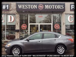 2014 Nissan Altima 2.5 S* PURE DRIVE* LOW KMS!!!
