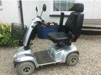 25 mile, taxed, big 4 wheel ORION MOBILITY SCOOTER, DELIVER, LITTLE USED SPOTLESS BODYWORK IN VGC