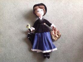 Mary Poppins Plush Doll