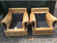 TWO ARMCHAIRS FREE FREE