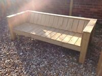 Luxurious Solid Wooden - Sofa Style - Garden Bench