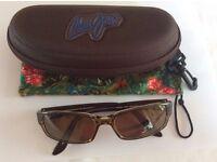 MAUI JIM MJ 220 Atoll (Bronze Lens) Sunglasses & Case