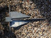 Danforth Hooker branded anchor vgc unused 12kg £25 Ono for sailing fishing or boating