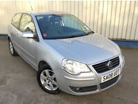 08 VOLKSWAGEN POLO MATCH 1.2 PETROL 12M MOT UNTIL MARCH 2018, HPI CLEAR, VGC FULL SERVICE HISTORY,