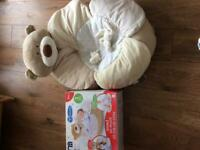 Mothercare love me so much sit up and cosy bear