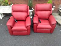 Dual Motor Electric Chairs (Genuine Leather)