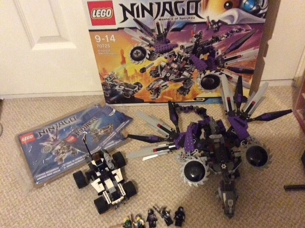 Lego Ninjago 70727 Masters of Spinjitzu Nindroid Mechdragon with box minifigures