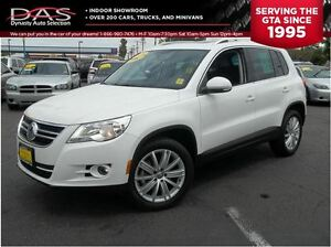 2011 Volkswagen Tiguan 2.0 TSI AWD LEATHER/SUNROOF