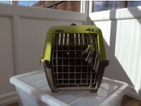 Cat carry case and over radiator bed