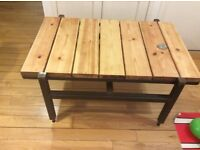 Industrial/contemporary coffee table - Free delivery