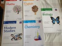 How to Pass Higher English, Maths, Chemistry, Biology and Modern Studies £5 each