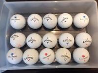 Golf Balls - CALLAWAY x 15 balls