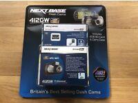 Nextbase 412GW In Car Dash Cam & 8GB Micro SD