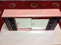 Bathroom cabinet with mirrors