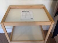 Ikea change table
