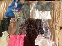 Large bundle of young teens clothes age 11-14