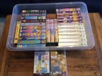 Box of Simpsons videos