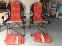 Two Quest Elite folding chairs