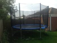 TRAMPOLINE 12FT WITH ENCLOSURE