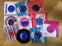 "45 RPM 7"" Vinyl –60's Singles"