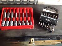 Allan sockets & Short reach combination spanners