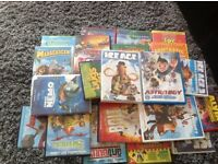Kids summer fun bundle of dvds.