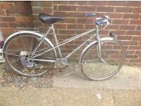 Vintage Small Ladies Bernard Dangre Toiring Bike 3 sp