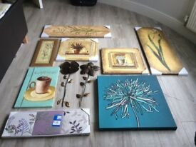 Collection of Canvas Prints, Metal Wall Art and Pictures