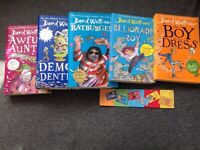 David Walliams books x 5 (and bookmark) Awful Auntie sold but Worlds Worst Children instead