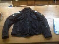 Frank Thomas Lightweight Summer motorbike jacket size large
