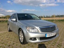 2009 MERCEDES BENZ C200, 2148cc DIESEL MANUAL, FULL SERVICE HISTORY, EXCELLENT CONDITION