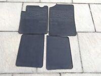 Renault Clio rubber car mats