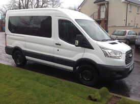FORD TRANSIT TREND 12 SEATER MINIBUS 2015 MODEL